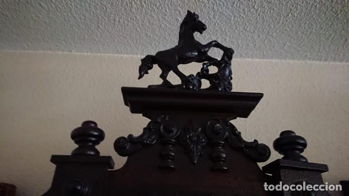 Relojes de pared: ANTIGUO RELOJ PÉNDULO JUNGHAS 1900 GRAN TAMAÑO - Foto 5 - 147711798
