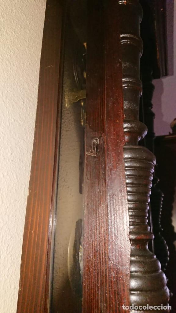 Relojes de pared: ANTIGUO RELOJ PÉNDULO JUNGHAS 1900 GRAN TAMAÑO - Foto 10 - 147711798