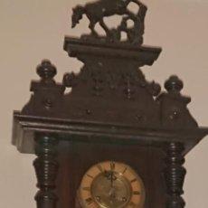 Relojes de pared: ANTIGUO RELOJ PÉNDULO JUNGHAS 1900 GRAN TAMAÑO. Lote 147711798