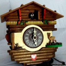 Relojes de pared: RELOJ CUCO ALEMAN SELVA NEGRA M. S. XX. Lote 147908034