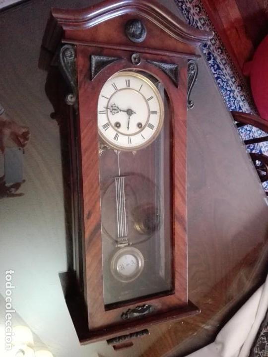 Relojes de pared: RELOJ DE PARED FINALES DEL siglo XIX R=A - Foto 5 - 148109598