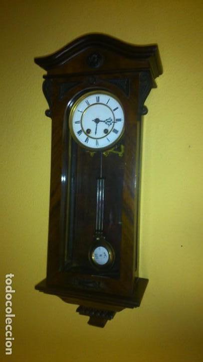 RELOJ DE PARED FINALES DEL SIGLO XIX R=A (Relojes - Pared Carga Manual)