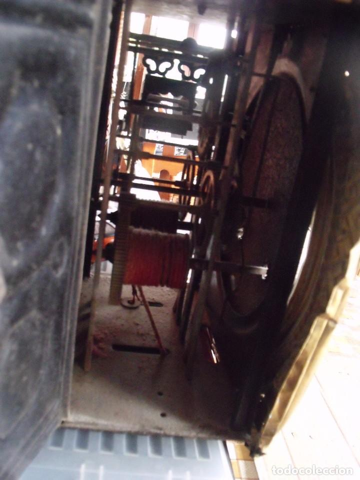 Relojes de pared: ¡¡GRAN OFERTA!! Antiguo RELOJ PESAS MOREZ LIRA -año 1880-REPITE HORAS- LOTE 152 - Foto 10 - 148196030
