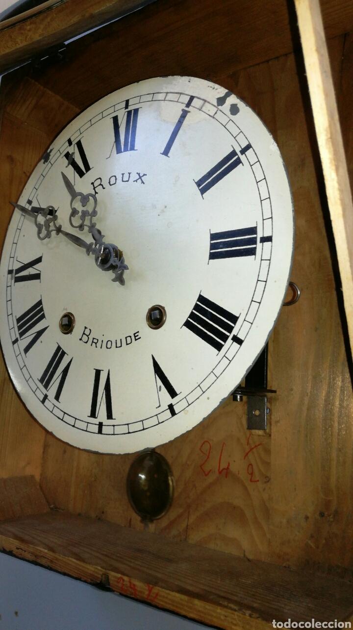 Relojes de pared: Reloj de ojo de buey con maquinaria morez funcionando - Foto 4 - 147985669