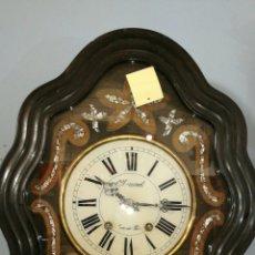Relojes de pared: RELOJ DE PARED FUNCIONANDO MUY BONITO DE OJO BUEY. Lote 147991684