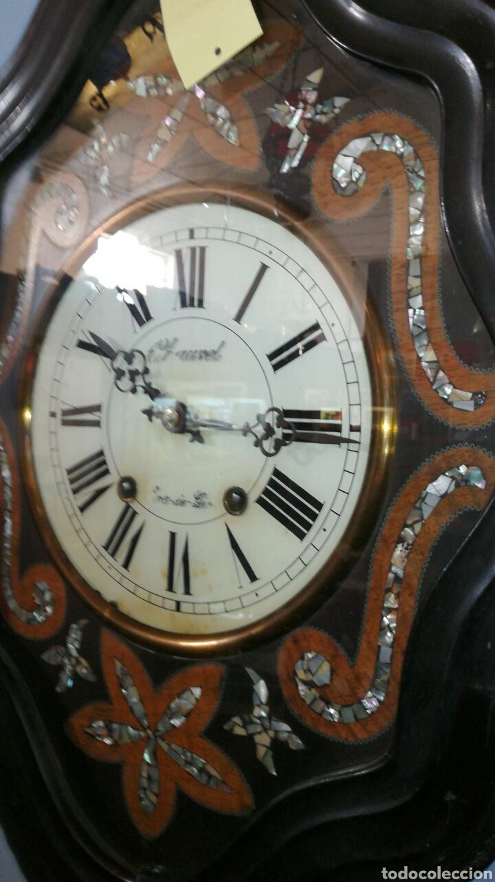 Relojes de pared: Reloj de pared funcionando muy bonito de ojo buey - Foto 2 - 147991684
