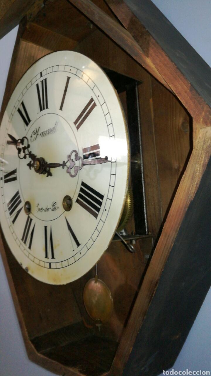 Relojes de pared: Reloj de pared funcionando muy bonito de ojo buey - Foto 3 - 147991684