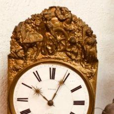 Relojes de pared: RELOJ MOREZ DE 3 CAMPANAS.. Lote 148893376
