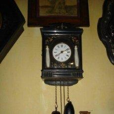 Relojes de pared: BONITO RELOJ DE LA SELVA NEGRA SIGLO XIX DE COLECCION VER FOTOS. Lote 149224746