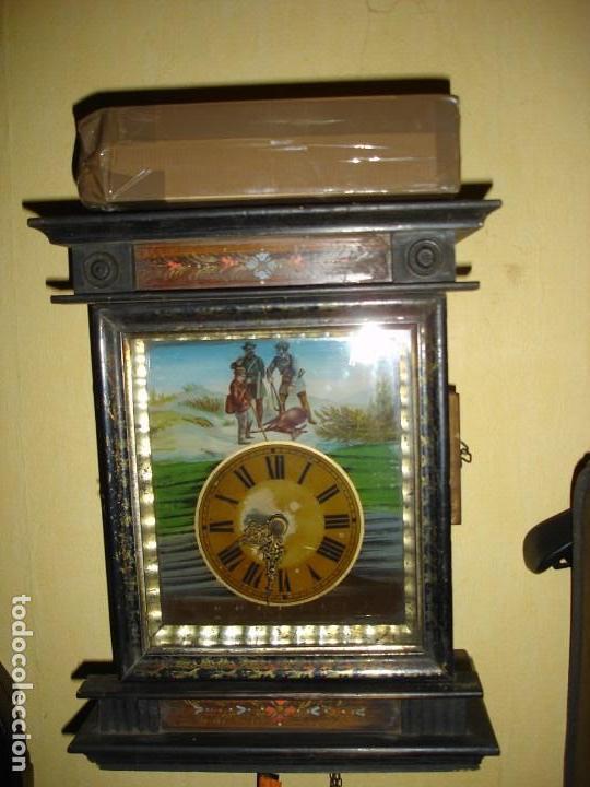 PRECIOSO RELOJ SELVA NEGRA SIGLO XIX (Relojes - Pared Carga Manual)