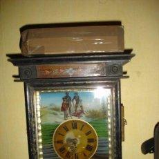 Relojes de pared: PRECIOSO RELOJ SELVA NEGRA SIGLO XIX. Lote 149225514