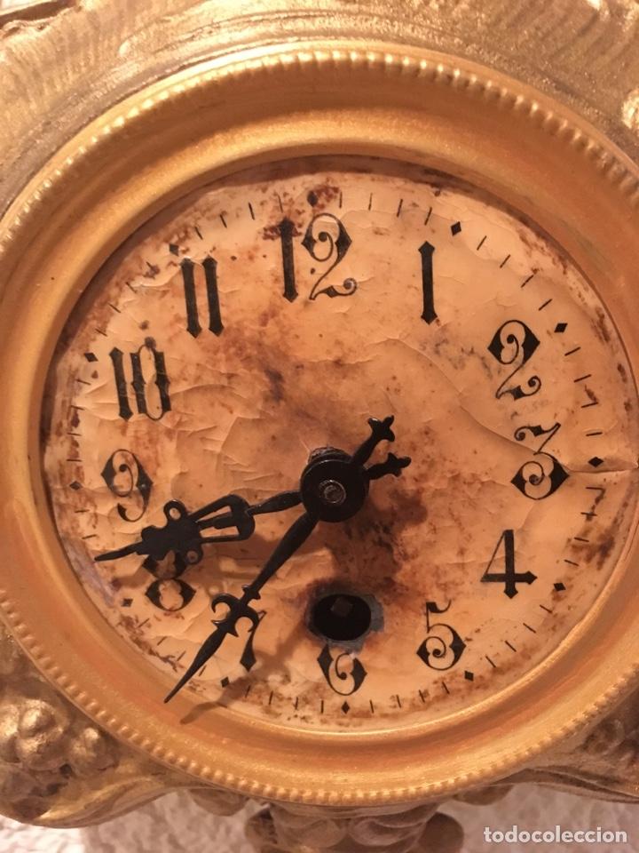 Relojes de pared: RELOJ PARED A CUERDA MODERNISTA ALEMÁN FUNCIONA - Foto 4 - 149385368