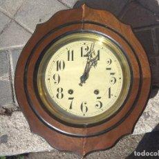 Relojes de pared: ANTIGUO RELOJ OJO DE BUEY MAQUINARIA MOREZ, ENVÍO GRATIS. Lote 150400666