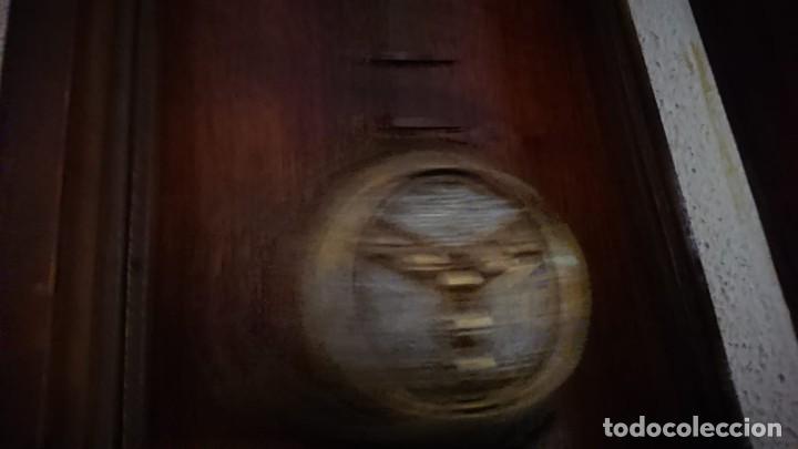 Relojes de pared: ANTIGUO RELOJ PÉNDULO JUNGHAS 1900 GRAN TAMAÑO - Foto 4 - 147711798