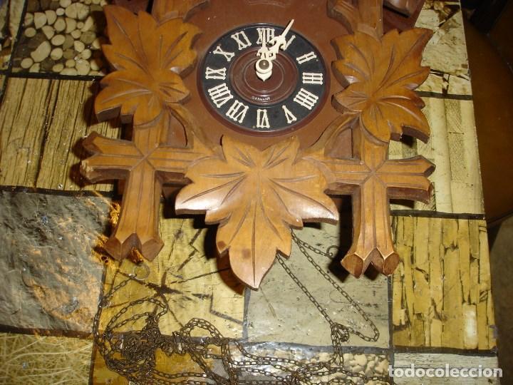 Relojes de pared: bonito reloj de cuco tamano grande estado de marcha solo una limpieza - Foto 3 - 150798422