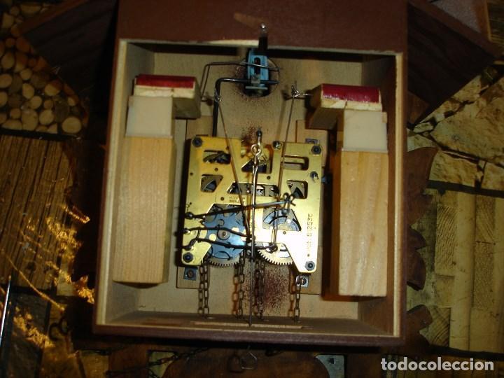 Relojes de pared: bonito reloj de cuco tamano grande estado de marcha solo una limpieza - Foto 4 - 150798422