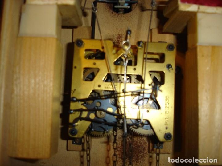 Relojes de pared: bonito reloj de cuco tamano grande estado de marcha solo una limpieza - Foto 5 - 150798422