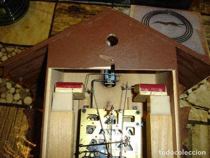 Relojes de pared: bonito reloj de cuco tamano grande estado de marcha solo una limpieza - Foto 6 - 150798422