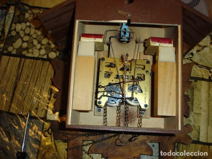 Relojes de pared: bonito reloj de cuco tamano grande estado de marcha solo una limpieza - Foto 7 - 150798422