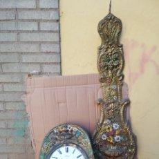 Relojes de pared: ESPECTACULAR RELOJ MOREZ PÉNDULO REAL SIGLO XIX. Lote 151122574