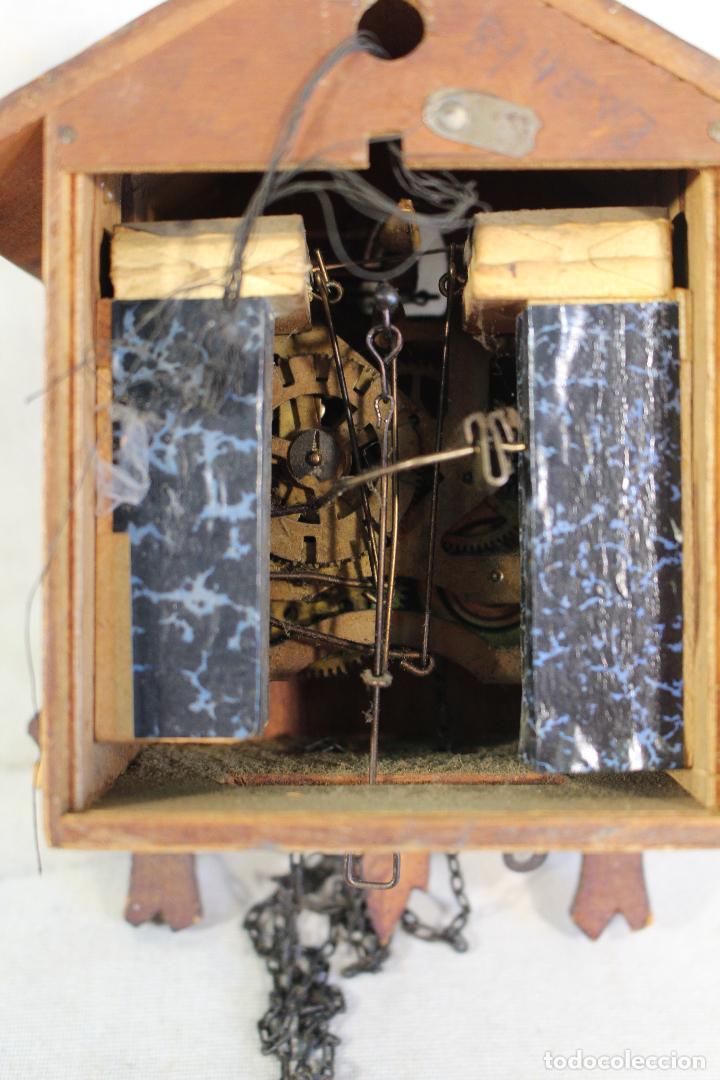 Relojes de pared: reloj cuco de madera para restaurar - Foto 5 - 153902316