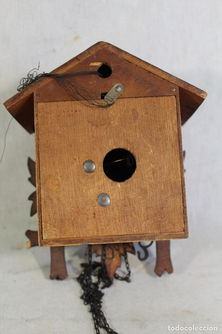 Relojes de pared: reloj cuco de madera para restaurar - Foto 7 - 153902316