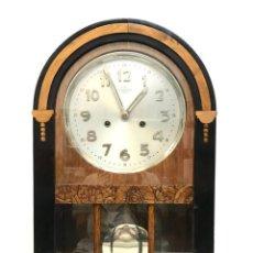 Relojes de pared: RELOJ ART DECO DE PARED MARCA EL REGULADOR 1910 DE BAGUES. Lote 151853138