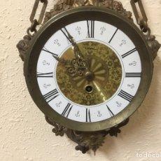 Relojes de pared: RELOJ MODELO IMPERIO, AÑOS 1900, VER DESCRIPCIÓN COMPLETA. Lote 151990424