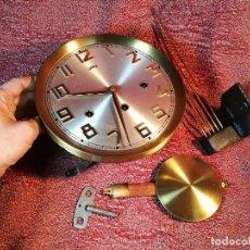 Relojes de pared: RELOJ DE PARED ALEMÁN MARCA SARS. TOCA LAS HORAS,MEDIAS CUARTOS.SONERIA TIPO CATEDRAL.1969. REF-1AC . Lote 152046086