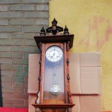 Relojes de pared: ESPECTACULAR RELOJ ALFONSINO R A SIGLO XIX. Lote 152592068