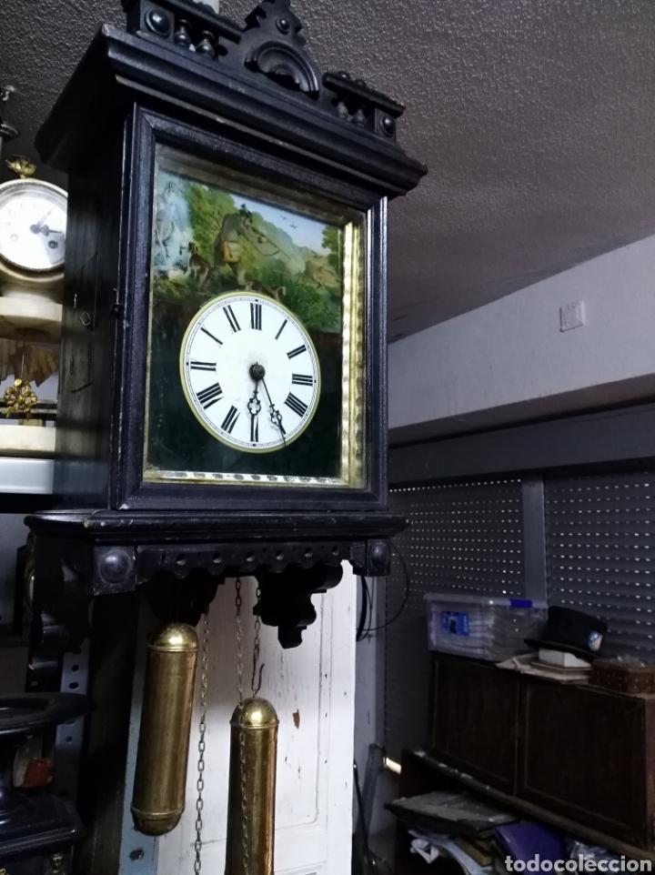 RELOJ RATERA FUNCIONANDO Y EN BUEN ESTADO M55X30 (Relojes - Pared Carga Manual)