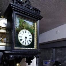 Relojes de pared: RELOJ RATERA FUNCIONANDO Y EN BUEN ESTADO M55X30. Lote 154907981