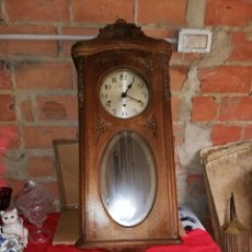 Relojes de pared: ANTIGUO RELOJ DE PARED 3 CUERDAS. Lote 155581589