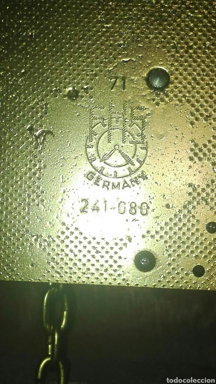 Relojes de pared: ANTIGUO RELOJ DE PARED, HOLANDES, EL MÁS GRANDE DE SU SERIE, ESTÁ COMPLETO Y FUNCIONANDO. - Foto 11 - 155757850