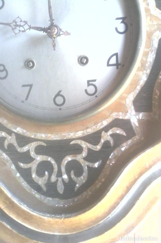 Relojes de pared: RELOJ ISABELINO . - Foto 2 - 155893890