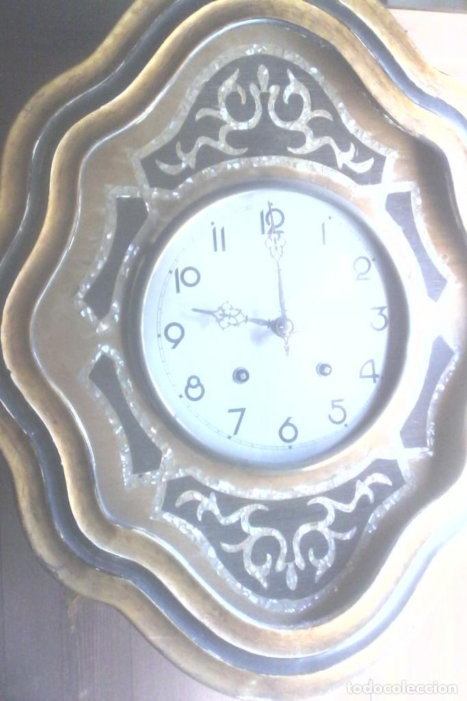 Relojes de pared: RELOJ ISABELINO . - Foto 5 - 155893890