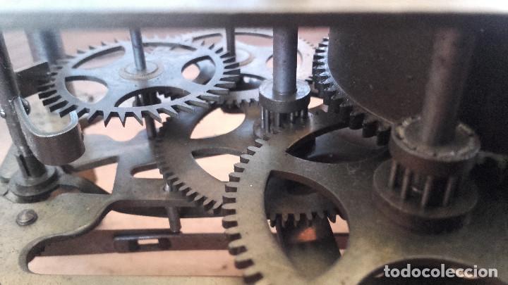 Relojes de pared: Ojo de buey sin agujas, motor funciona. - Foto 4 - 155919726