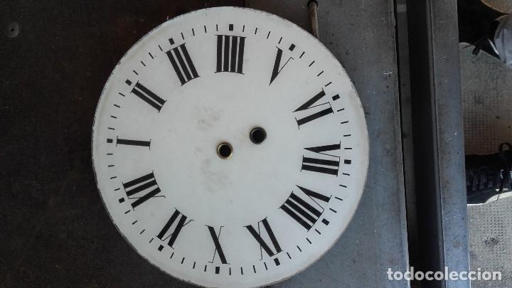 Relojes de pared: Ojo de buey sin agujas, motor funciona. - Foto 5 - 155919726