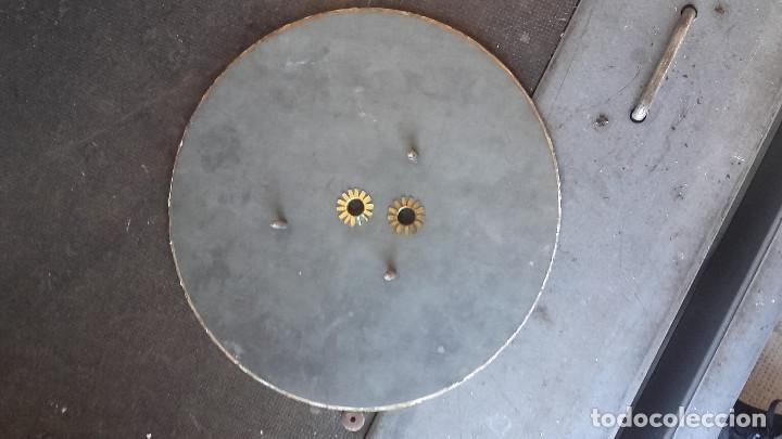 Relojes de pared: Ojo de buey sin agujas, motor funciona. - Foto 6 - 155919726