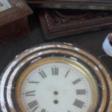 Relojes de pared: OJO DE BUEY SIN AGUJAS, MOTOR FUNCIONA.. Lote 155919726