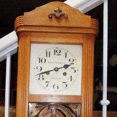 Relojes de pared: PRECIOSO RELOJ DE LA FIRMA RAMON TORREGROSA. Lote 155958574