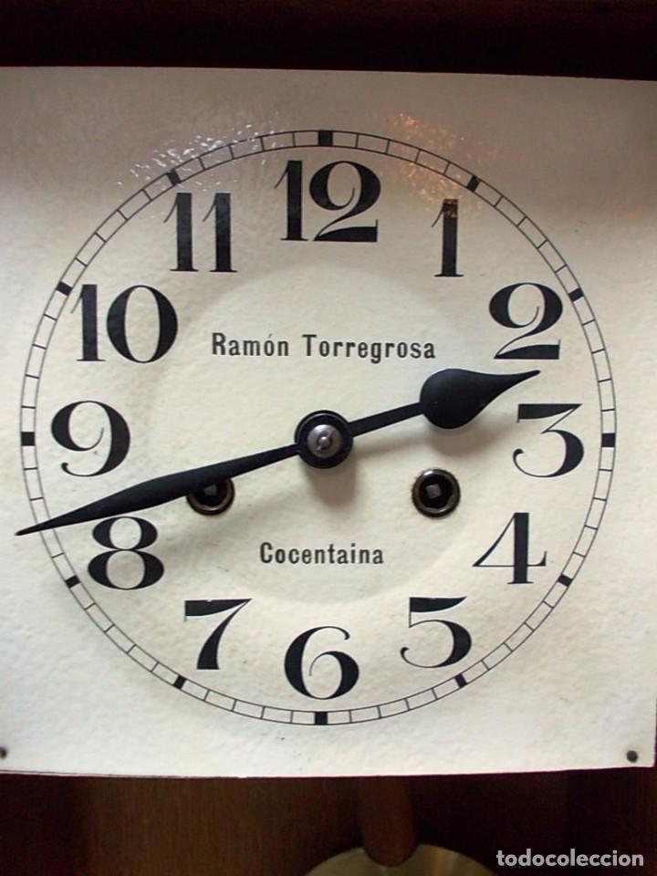 Relojes de pared: Precioso reloj de la firma Ramon Torregrosa - Foto 2 - 155958574
