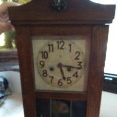 Relojes de pared: RELOJ DE PARED PENDULO JUNGHANS. Lote 156042394