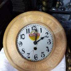 Relojes de pared: RELOJ DE COCINA FUNCIONANDO. Lote 156870505