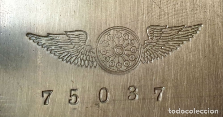Relojes de pared: RELOJ DE PARED. OJO DE BUEY. ESTILO ISABELINO. MADERA CON MARQUETERÍA. SIGLO XIX. - Foto 9 - 156982610