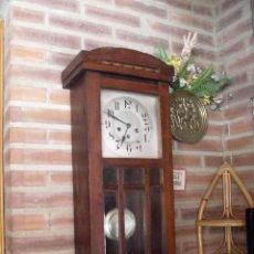 Relojes de pared: ¡¡GRAN OFERTA !! ANTIGUO RELOJ WETSMINSTER JUNGHANS- AÑO 1920- SONIDO 1/4 DE HORA. Lote 157242522