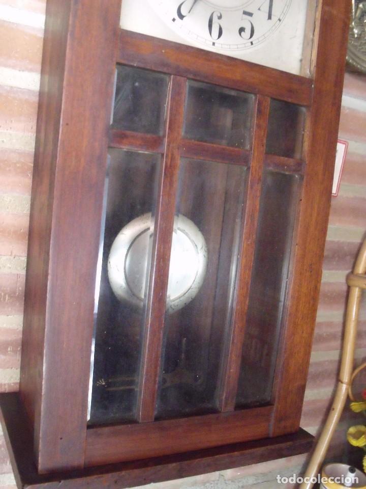 Relojes de pared: ¡¡GRAN OFERTA !! antiguo reloj wetsminster JUNGHANS- AÑO 1920- sonido 1/4 de hora - Foto 4 - 157242522