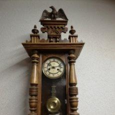 Relojes de pared: RELOJ DE MADERA. Lote 157334172