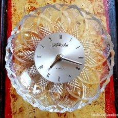 Relojes de pared: RELOJ AIKOSHA, VINTAGE, NUEVO. Lote 157665466
