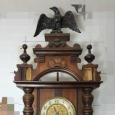 Relojes de pared: RELOJ PENDULO PARED. ORIGEN ALEMÁN.. Lote 157901264